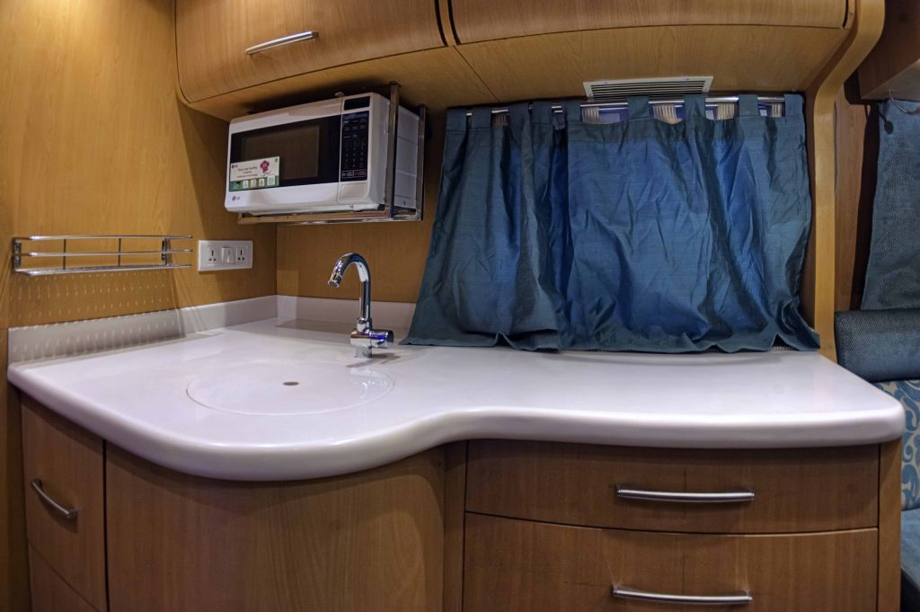 Motor Home - Kitchenette
