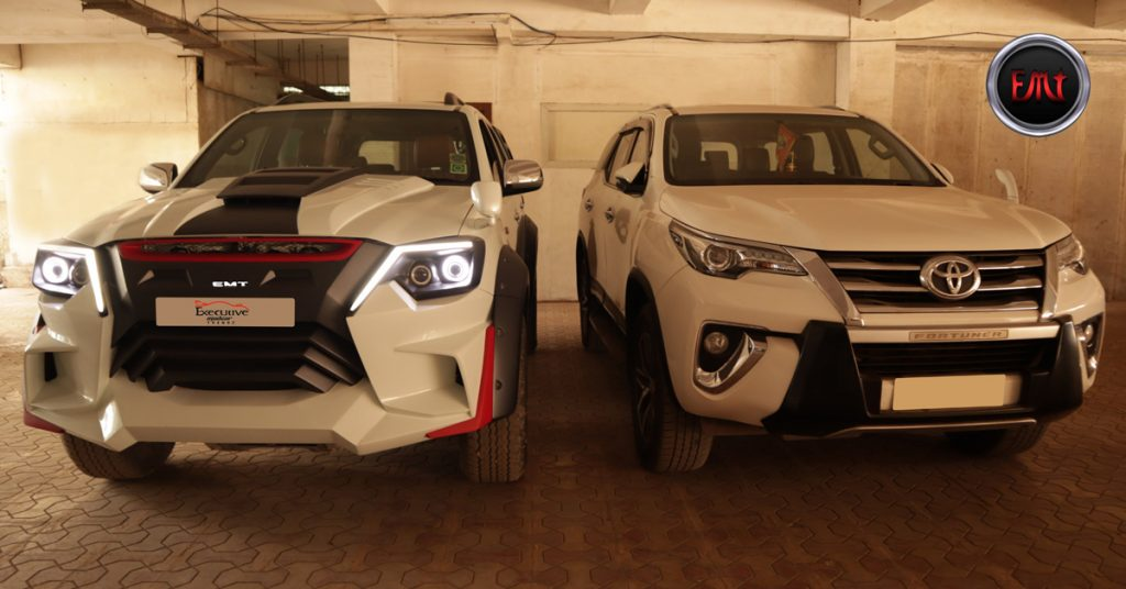 Toyota Fortuner Old & New