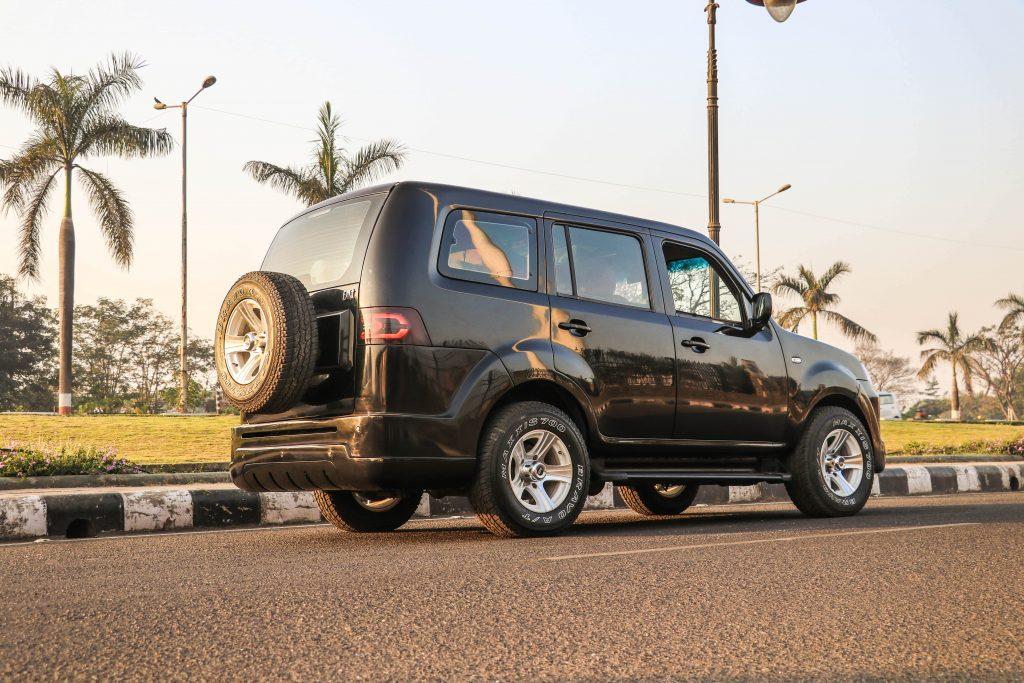 Tata Sumo Grande Back View