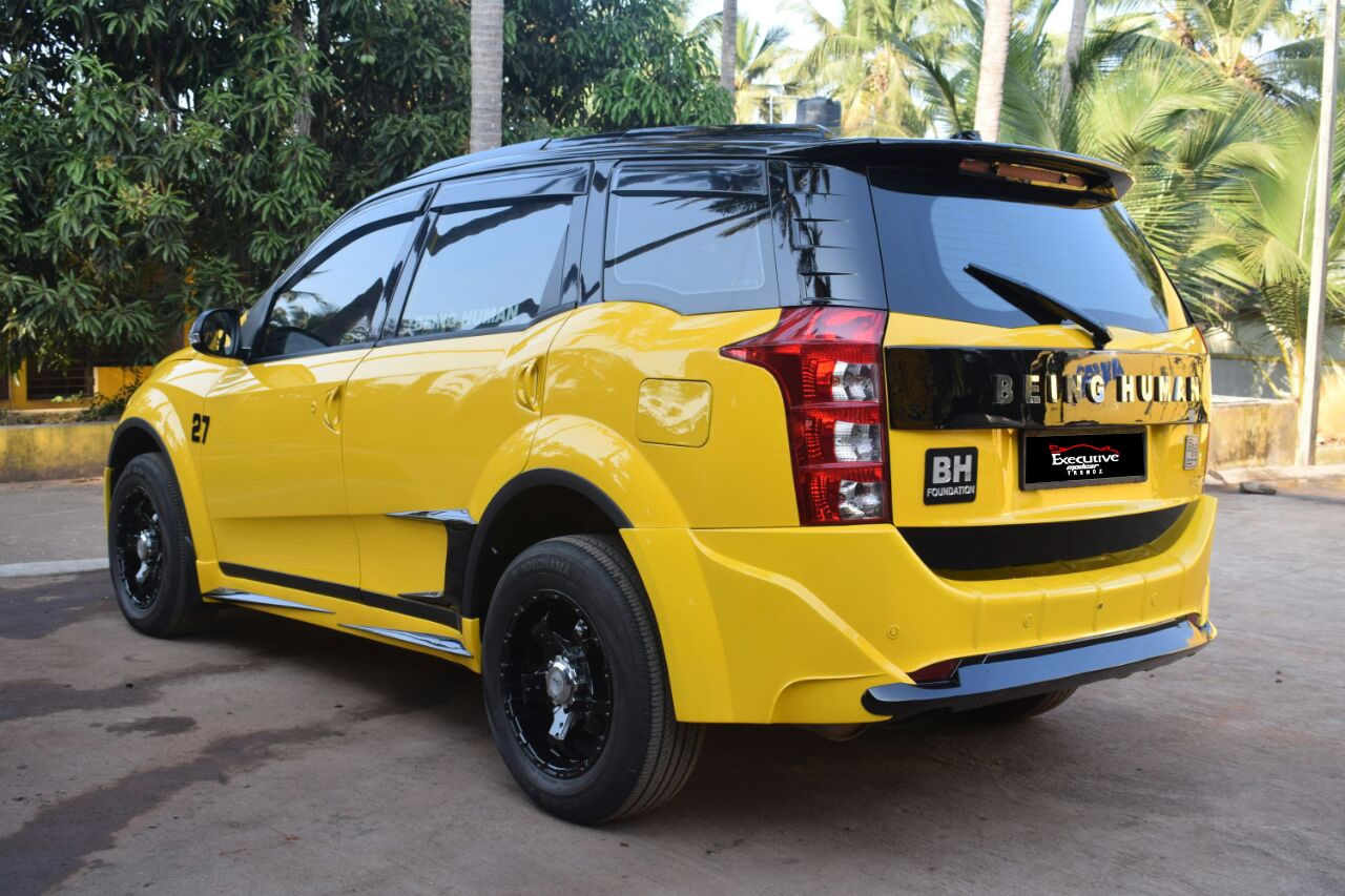 Mahindra XUV 500 Back Side View