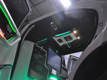 Toyota Fortuner Ceiling View
