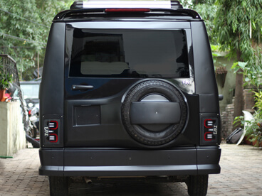 Tata Winger Back View