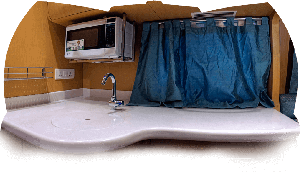 Motor Home Kitchen Cabinet